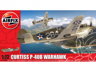 Airfix maquette avion A01003B Curtiss P-40B Warhawk 1/72