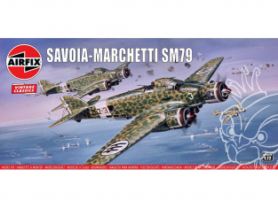 Airfix maquette avion A04007V Savoia-Marchetti SM79 1/72