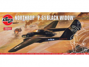 Airfix maquette avion A04006V Northrop P-61 Black Widow 1/72