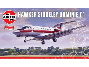 Airfix maquette avion A03009V Hawker Siddeley Dominie T.1 1/72