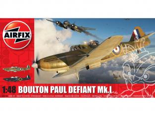 Airfix maquette avion A05128A Boulton Paul Defiant Mk1 1/48
