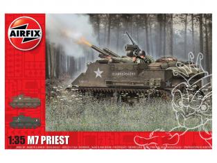 Airfix maquette militaire A1368 M7 Priest 1/35