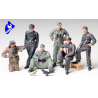 tamiya maquette militaire 35201 Tankistes Allemands 1/35