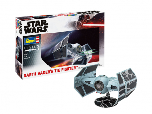 Revell maquette Star Wars 06780 Darth Vader's TIE Fighter 1/57