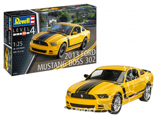 Revell maquette voiture 07652 2013 Ford Mustang Boss 302 1/25
