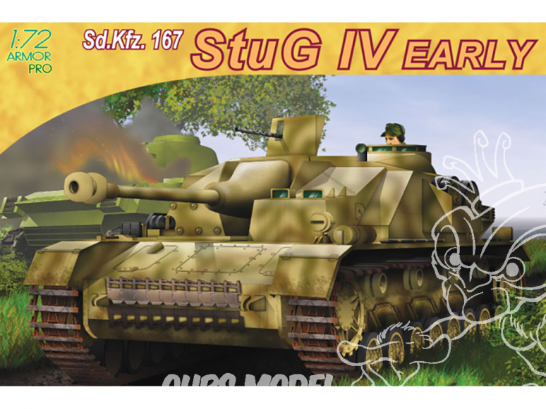 Dragon maquette militaire 7235 Sd.Kfz.167 StuG.IV Early Production 1/72