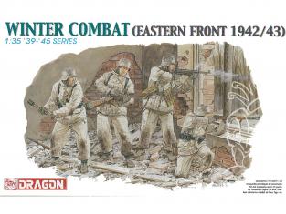 dragon maquette militaire 6154 Soldats allemand en tenue Hiver Front de l'Est 1942/43 1/35