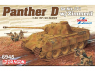 Dragon maquette militaire 6945 Sd.Kfz.171 Panther Ausf.D w/Zimmerit (2 in 1) 1/35