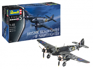 Revell maquette avion 03854 Beaufighter IF Nightfighter 1/48