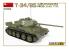 Mini Art maquette militaire 37069 T-34/85 Poduction TCHÉCOSLOVAQUE TYPE PRÉCOCE avec interieur détaillé 1/35