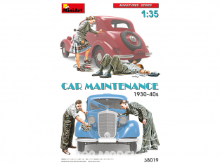 Mini Art maquette militaire 38019 MAINTENANCE de voiture 1930-40s 1/35