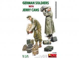 Mini Art maquette militaire 35286 SOLDATS ALLEMANDS AVEC DES JERRY CANS 1/35