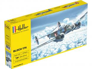 Heller maquette avion 80312 BLOCH 174 1/72