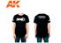 Ak Interactive T-Shirt AK924 T-Shirt Ak Interactive 3GEN taille M