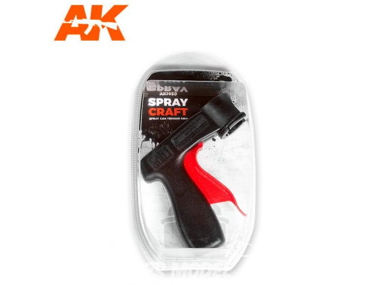 AK interactive accessoires ak1050 Poignée pour Spray - bombes de peinture