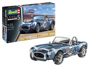 Revell maquette voiture 67669 Model set '62 Shelby Cobra 289 1/25