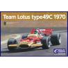 Ebbro maquette voiture 006 Team Lotus Type 49C 1970 1/20