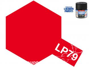 Peinture laque couleur Tamiya LP-79 Rouge mat 10ml