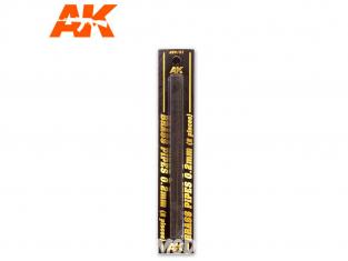 AK interactive ak9101 Tubes laiton 0.2mm x2