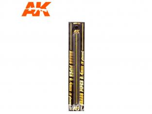AK interactive ak9103 Tubes laiton 0.4mm x5
