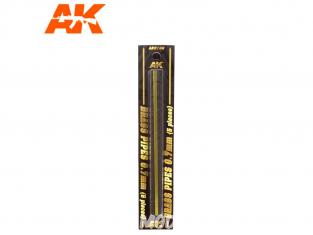 AK interactive ak9106 Tubes laiton 0.7mm x5