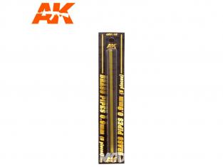 AK interactive ak9108 Tubes laiton 0.9mm x5