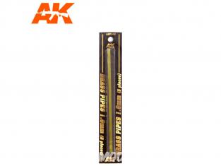 AK interactive ak9109 Tubes laiton 1.0mm x5