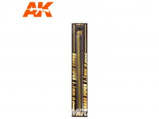 AK interactive ak9110 Tubes laiton 1.1mm x5