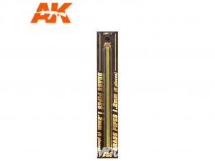 AK interactive ak9111 Tubes laiton 1.2mm x5