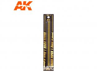 AK interactive ak9112 Tubes laiton 1.3mm x5