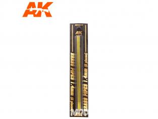 AK interactive ak9113 Tubes laiton 1.4mm x5