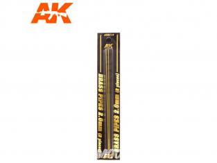 AK interactive ak9118 Tubes laiton 2mm x2