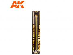 AK interactive ak9123 Tubes laiton 3mm x2