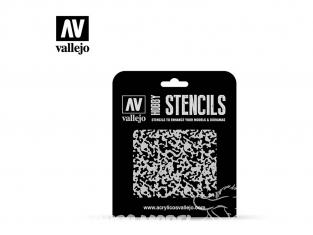 Vallejo Stencils ST-AIR001 pochoir Peinture vieillie 1/48