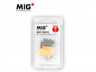 MIG Productions by AK MP35-405 Empreintes de bottes US WWII 1/35