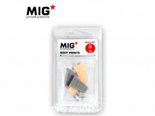 MIG Productions by AK MP35-407 Empreintes de bottes US Modernes 1/35