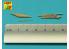 Aber A48115 Armement pour US Douglas A-1H Skyraider 1/48
