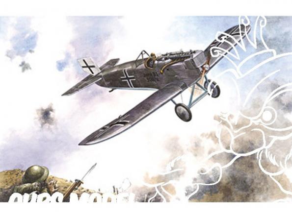 RODEN maquettes avion 041 CHASSEUR JUNKER D-1 1917 1/72