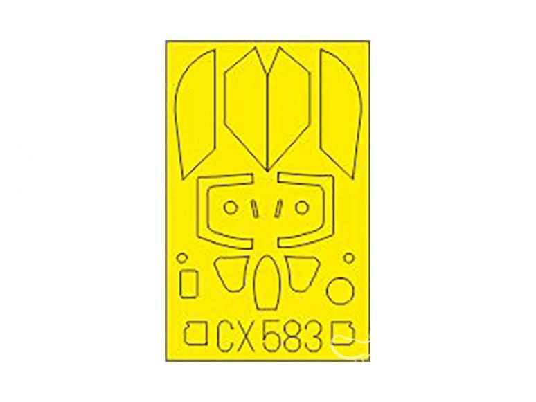 Eduard Express Mask CX583 MiG-21PFM Eduard 1/72
