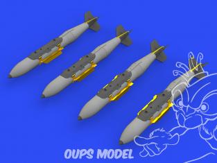 Eduard kit d'amelioration avion brassin 648563 Armement GBU-31(V)3B JDAM 1/48