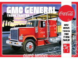 AMT maquette camion 1179 1976 GMC General Semi Tractor (Coca-Cola) 1/25