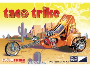 MPC maquette moto 893 Ed Roth's Mail Box Chopper (Série Trick Trikes) 1/25