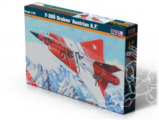 Master CRAFT maquette avion 040895 F-350 Draken Austrian A.F 1/72