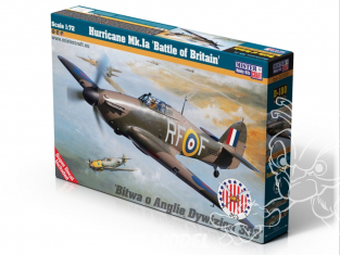 MASTER CRAFT maquette avion 041809 Hurricane Mk.Ia Battle of Britain 1/72