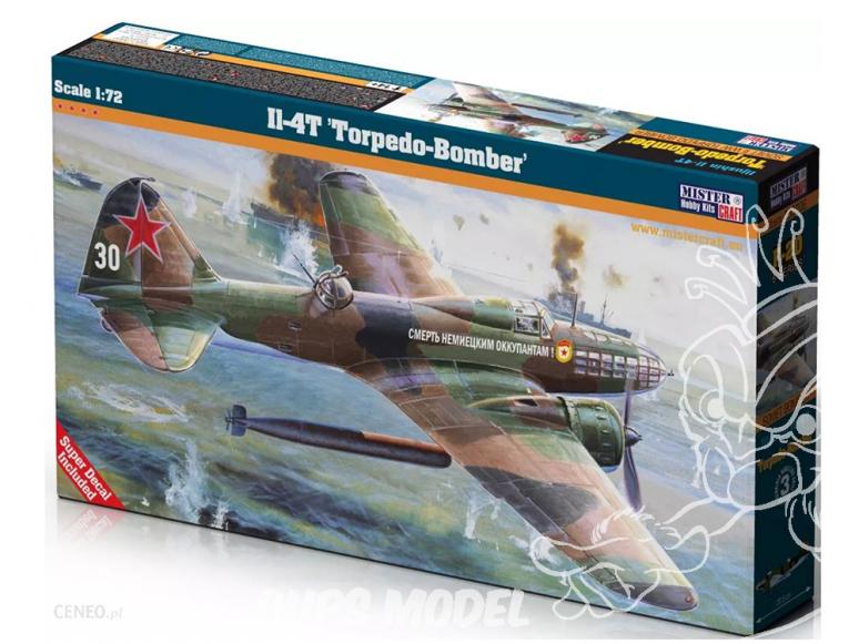 MASTER CRAFT maquette avion 060206 Iliouchine Il-4 Bomabardier torpilleur Sovietique 1/72