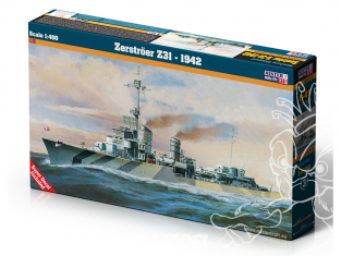 MASTER CRAFT maquette bateau 070557 German destroyer Z31 1/400