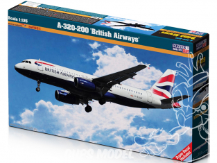 MASTER CRAFT maquette avion 060091 Airbus A320-200 1/125