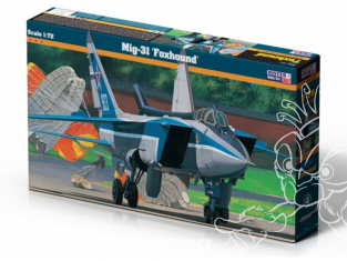 Master CRAFT maquette avion 070526 Mig-31 Foxhound 1/72