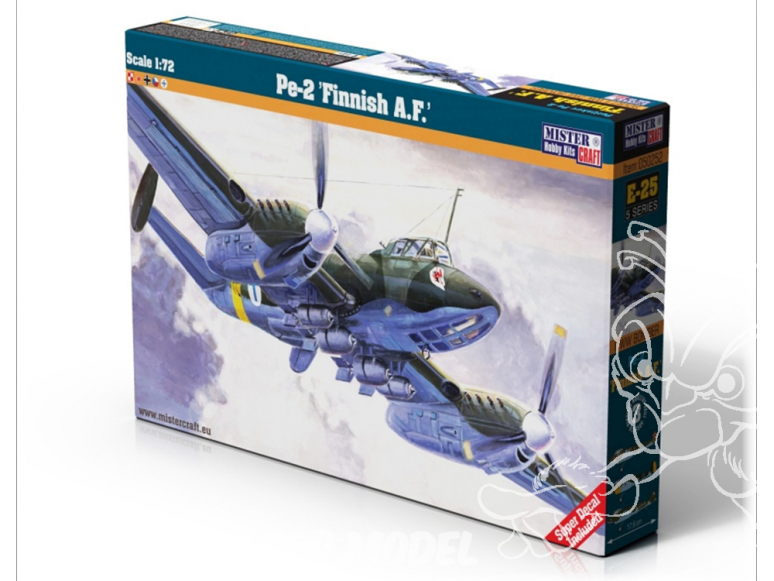 MASTER CRAFT maquette avion 050252 Petliakov Pe-2 Finnish A.F. 1/72