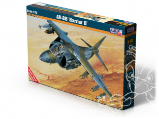 Master CRAFT maquette avion 040405 McDonnell Douglas AV-8B Harrier II 1/72